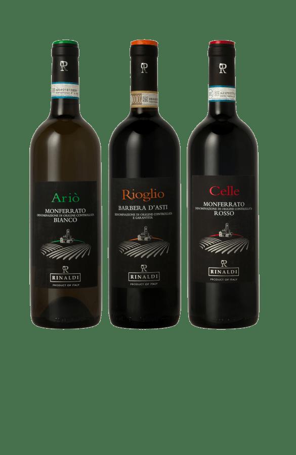 Rinadi Vini bottiglie