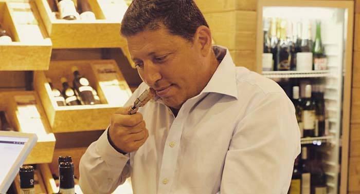 Andrea Rinadi productor de vino