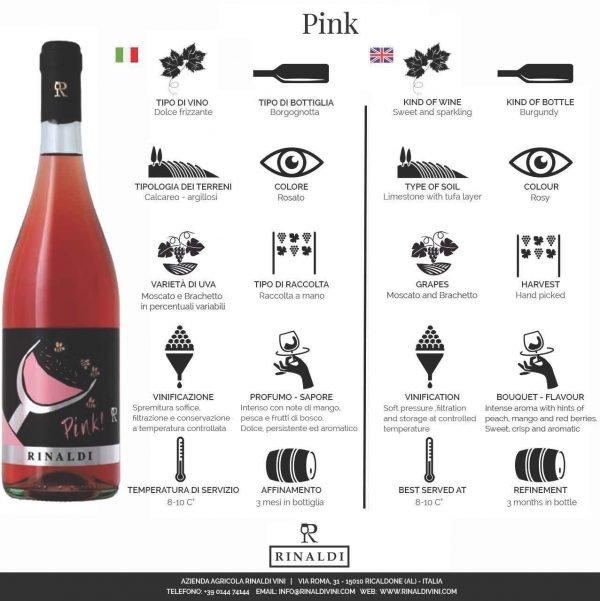 Vino dolce e rosato Piemonte