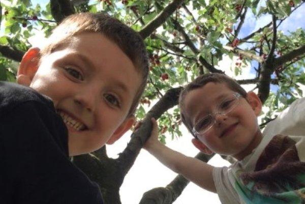 i figli di Andrea e Anna Rinaldi