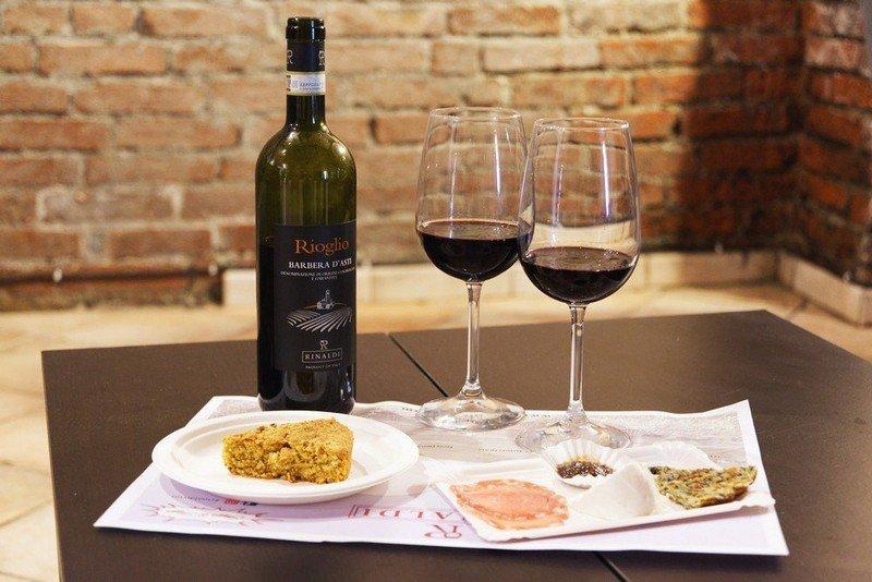 degustazione guidata di vini del Monferrato